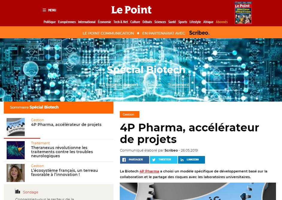 4P_Pharma_Le_Point